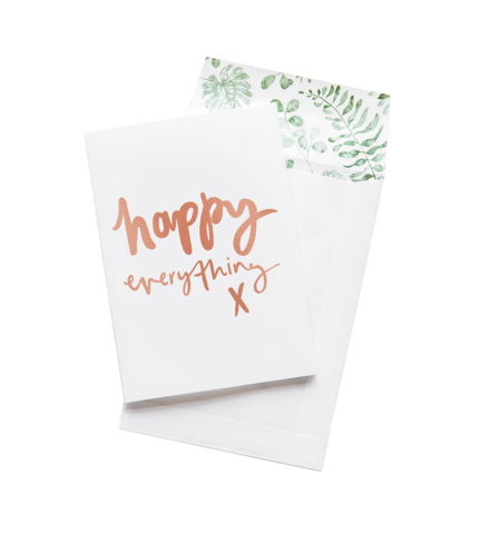 Happy Everything - Greeting Card