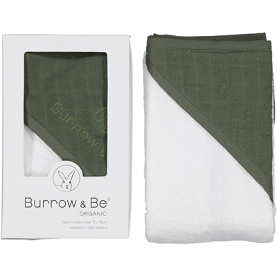 Baby Hooded Towel | Olive
