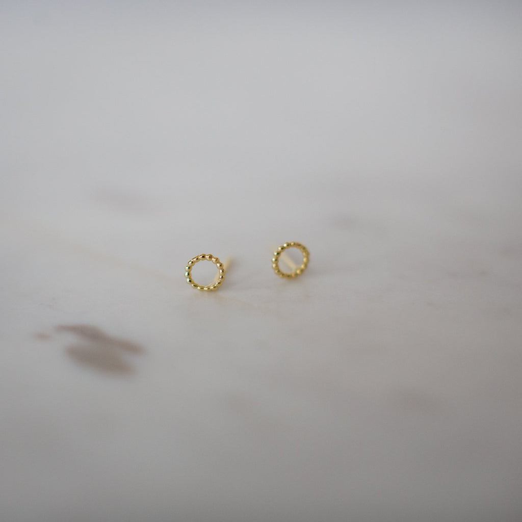 Dotty Oh Stud - 14kt gold plated