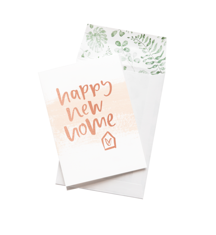 Happy New Home - Greeting Card