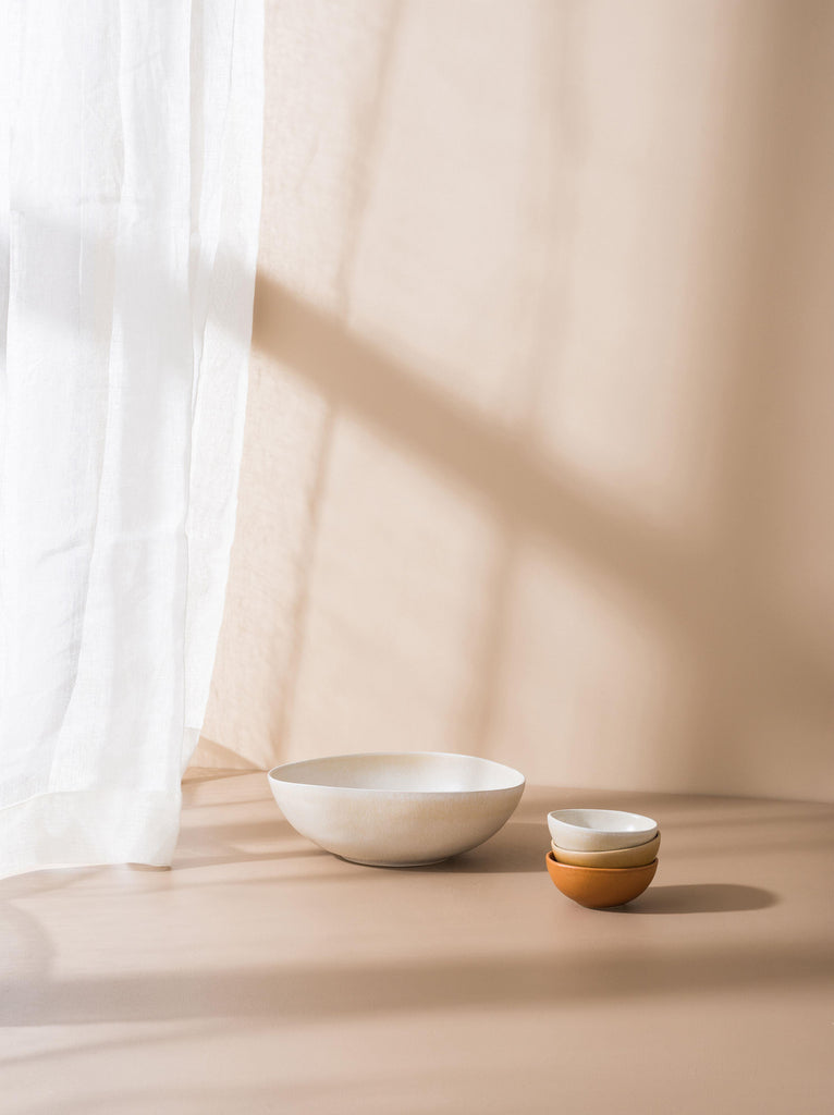Serena Serving Bowl Off White | Small