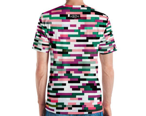 "Another awesome chromatic version of the famous  ""Lego Wailing Wall"", 2 COLOR VARIANTS.Men's T-shirt"