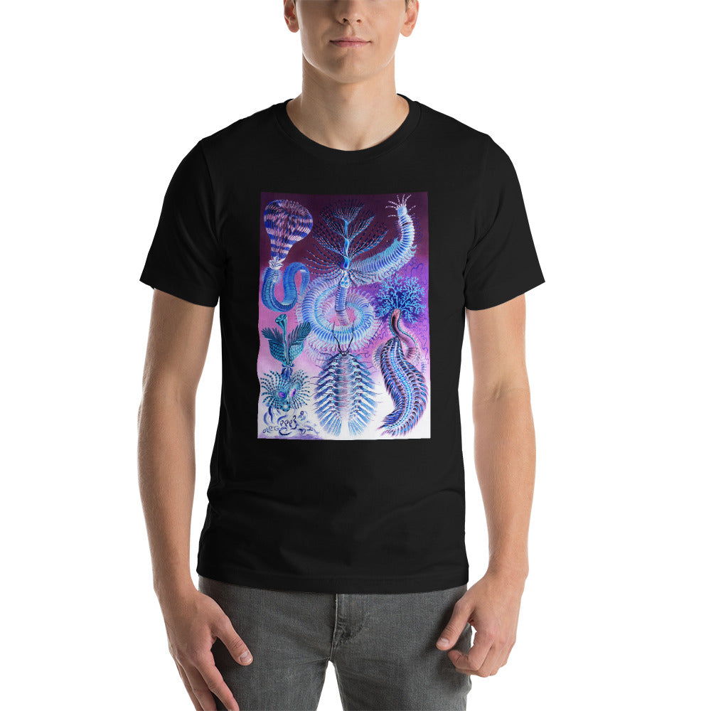 Marine life illustration, Short-Sleeve Unisex T-Shirt