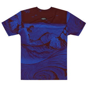 """The whirlpools of Naruto at Awa"" by Hiroshige Utagawa, Men's T-shirt"