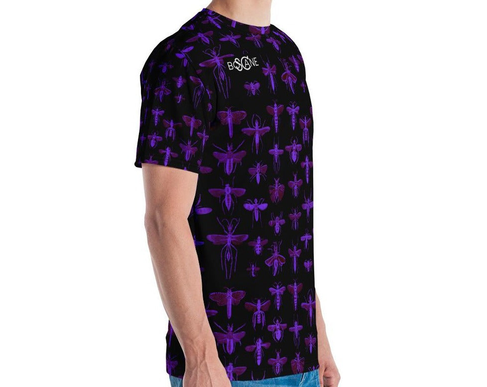 "UltraViolet ""Insect Vibrations"" Men's T-shirt"