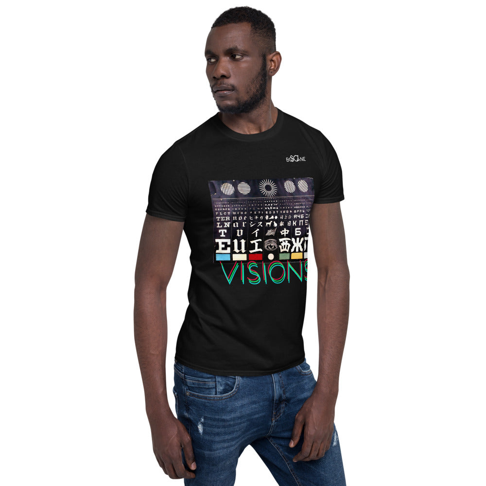 Vintage optometric scale. Short-Sleeve Unisex T-Shirt