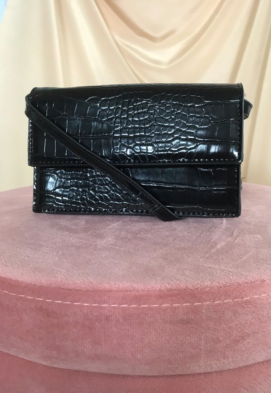 Grace Crocodile Cross Body Bag