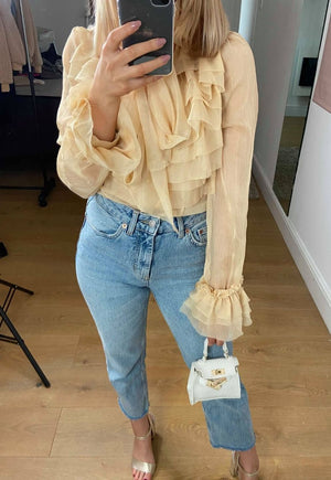 Estelle Ruffle Blouse