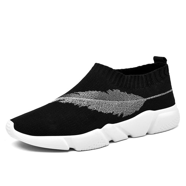Men's Casual Shoes 2018 Lightweight Slip on Socks Sneakers Youth Boys Breathable Trainers Low Cut Harajuku Speed Krasovki - XenoStudio