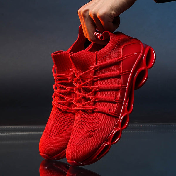 Blade Shoes Breathable Running Shoes Fashion Sneakers Comfortable Jogging Shoes - XenoStudio