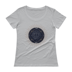 Ladies' Scoopneck T-Shirt - XenoStudio