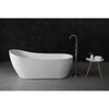 MELA - MAYA High Back Free Standing Bath 1500mm