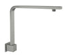 NERO -  Square Swivel Shower Arm Gun Metal Grey