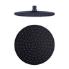 NERO -  200mm ROUND SHOWER HEAD Black