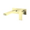 NERO BIANCA WALL BASIN MIXER Brushed Brass