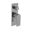 NERO BIANCA SHOWER MIXER With DIVERTER Gun Metal Grey