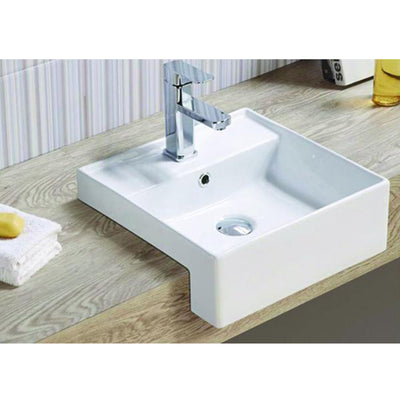 MELA - ZONE Semi Recessed Basin