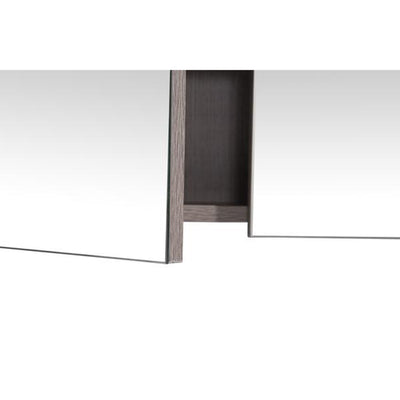 MELA - PORTER 900 Dracula Oak Mirror Cabinet with Doors