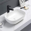 MELA - BAYLEE Matte White Above Counter Basin