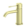 NERO - OPAL Basin Mixer Brushed Brass