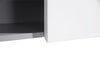 MELA - LIMPIAR 600 Gloss White Laundry Wall Cabinet with Doors