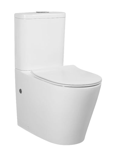 MELA - ELVAS Tornado Toilet Suite (Extra Height)
