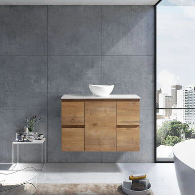MELA - PADDY 1200 Snafell Wall Hung Vanity with Door & Drawers