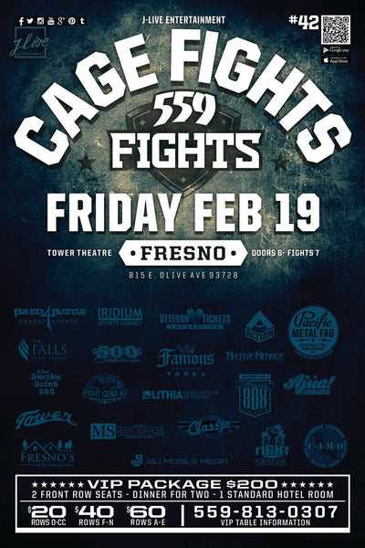 Action Sponsored 559 Fights February 19th