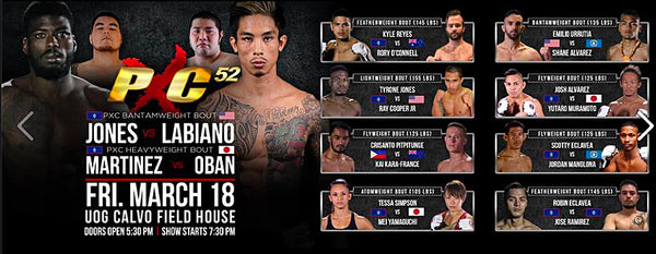 Action Sponsored Jeremiah Labiano In PXC Main Event - March 18th