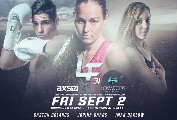 Action Sponsored Gaston Bolanos Fights For Lion Fight Title
