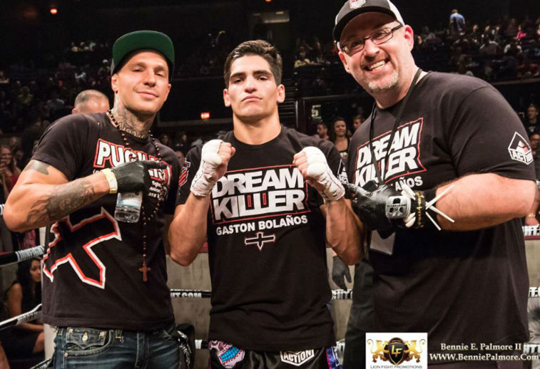 Gaston Bolanos and Team CSA at Lion Fight by Bennie Palmore