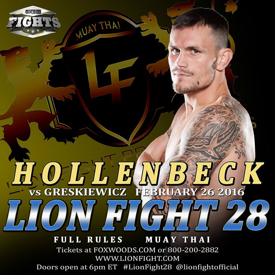 Ky Hollenbeck Lion Fight 28
