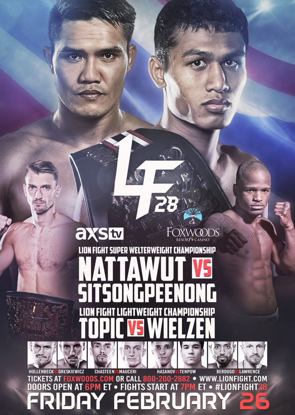 Lion Fight 28 Poster
