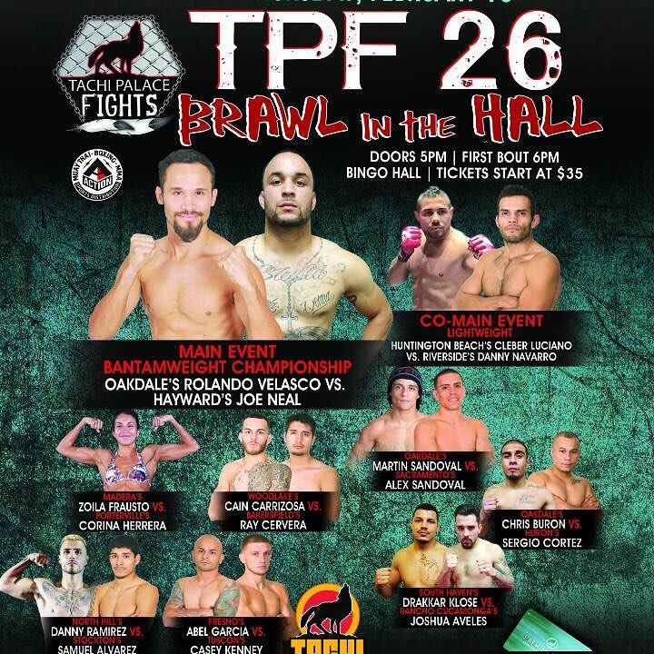 Tachi Palace Fights 28 Poster