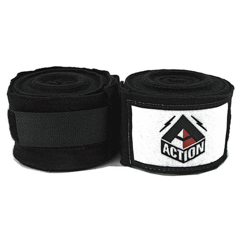 Action Hand Wraps Black