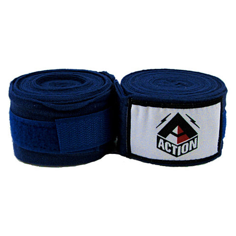 Fairtex Hand Wraps Blue