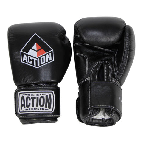Action Muay Thai Style Training Gloves