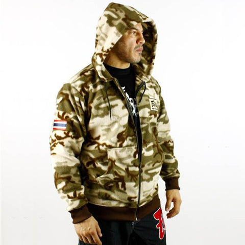 Fairtex Camo Hooded Sweatshirt