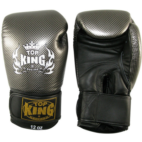 Top King Carbon Boxing Gloves