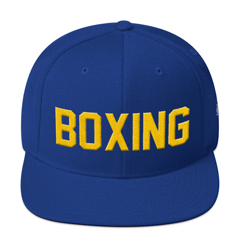 Boxing Snapback Hat