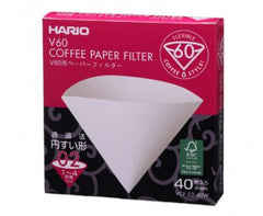 Filtry Hario na drip V60 velikost 02 (40ks)|Filters for V60 dripper size 02 (40 pcs)