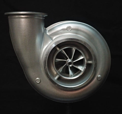 S475 Billet 75MM Turbocharger for Detroit and Cummins T-6 1.32A/R (ATID7596B)