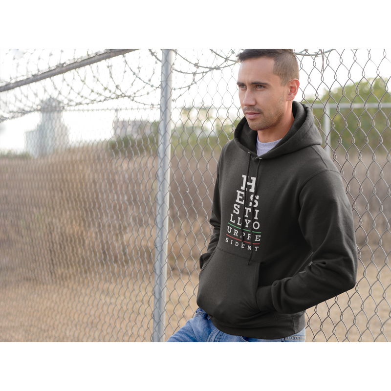 USPatriotgear.com | He's Still Your President Hooded Sweatshirt