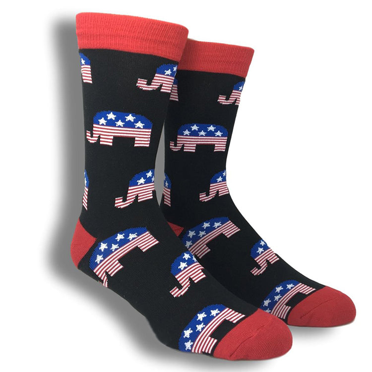 Republican Socks double