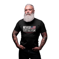 Never Socialism Trump 2020 T-Shirt