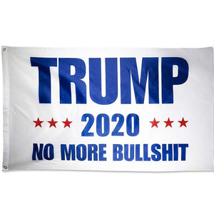 USPatriotgear.com | Trump 2020 - No More Bullshit Flag