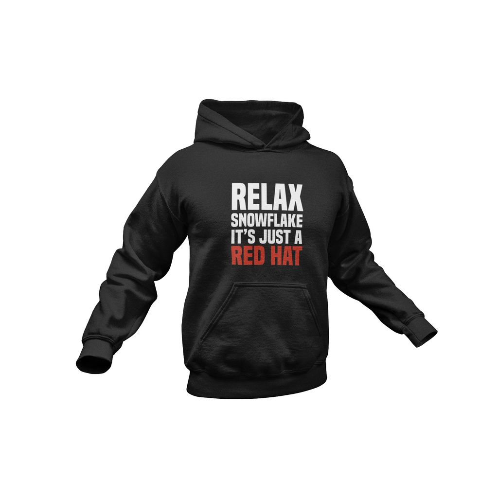 Relax Snowflake Hooded Sweatshirt