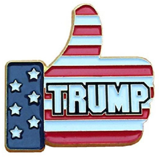 USPatriotgear.com | Thumbs Up Trump Pin