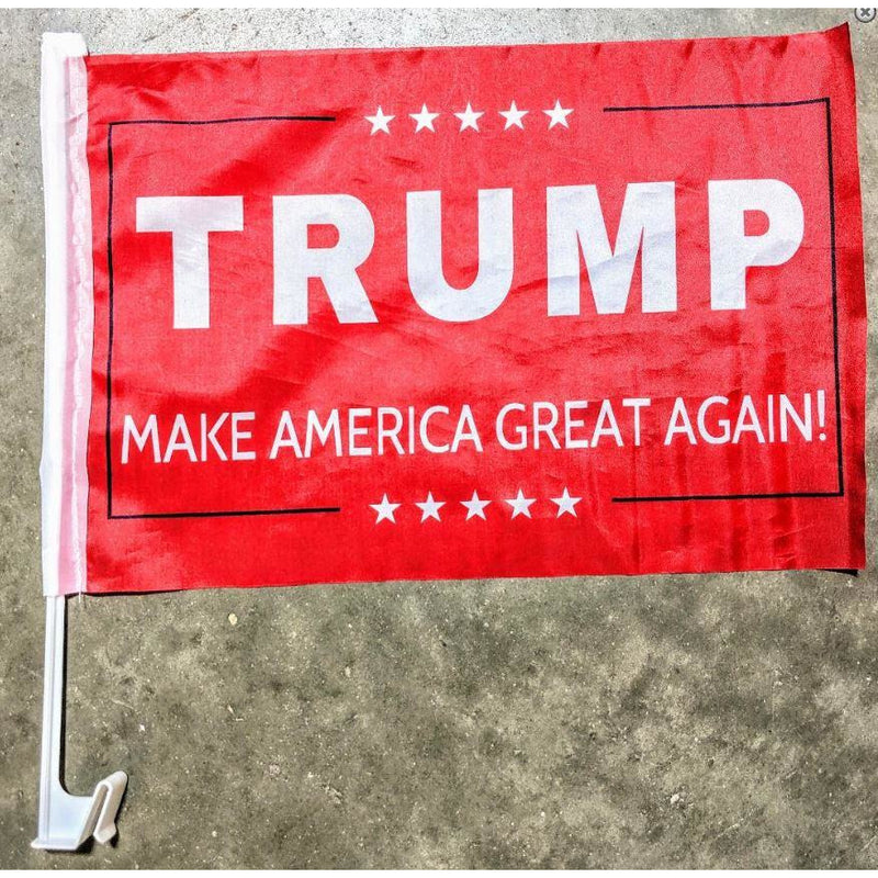 Trump MAGA Car Flag