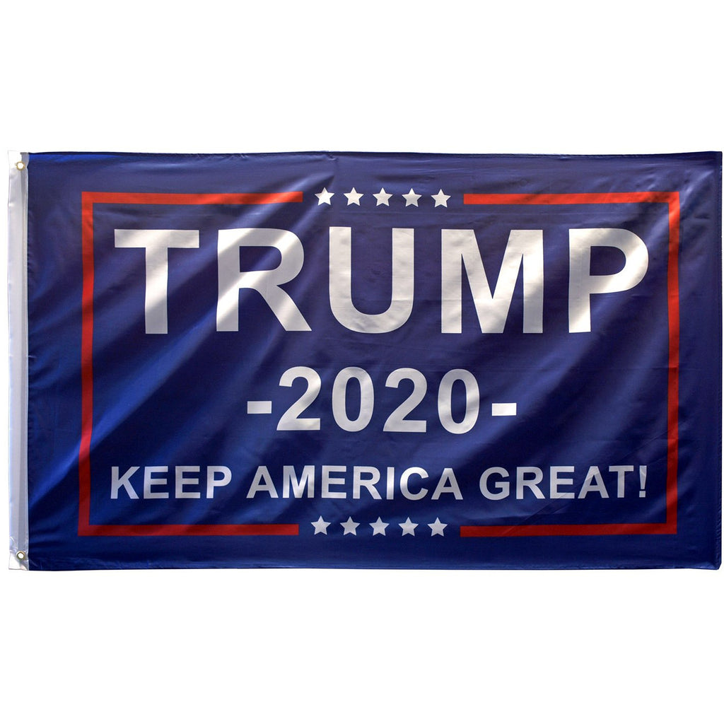 Trump 2020 - Keep America Great 3'x5' Flag